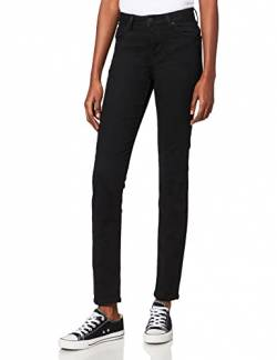 Lee Damen Skinny Jeans Scarlett HIGH, Schwarz (Black Rinse AE47), W24/L31 von Lee