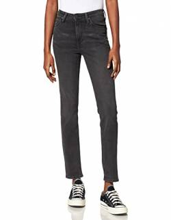 Lee Damen Scarlett High Skinny Jeans, Schwarz (Black Bucklin Ho) , 25W/31L von Lee