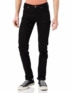 Lee Herren Daren Zip Fly Jeans, Clean Black, 48W / 34L von Lee