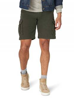 Lee Herren Extreme Motion Carolina Cargo Short Cargohose, Frontier Olive, 56 von Lee