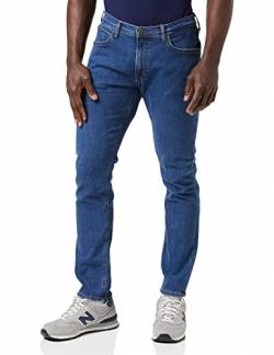 Lee Herren Luke Jeans, Mid Stone Wash, 33W / 36L von Lee