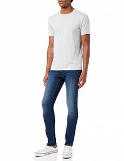 Lee Herren Tapered' Tapered Fit Jeans Luke', Blau (Dark Diamond Ft), 29W / 34L (Herstellergröße: 29W / 34L) von Lee