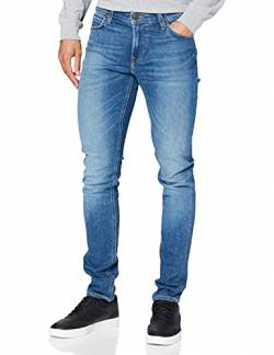 Lee Herren Malone Jeans, Blau Drop EM, 32W / 32L von Lee