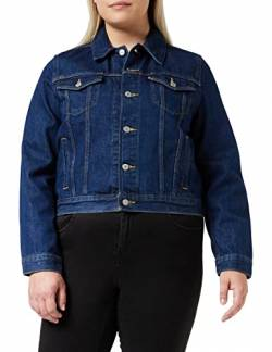 Levi's Damen Original Trucker Jeansjacke, Blau (Clean Dark Authentic 0036), Small (Herstellergröße: S) von Levi's