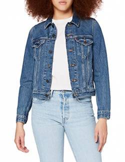 Levi's Damen Original Trucker' Jeansjacke, Blau (Soft As Butter Dark 0063), S von Levi's