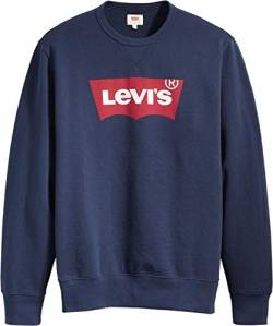 Levi's Herren Graphic Crew B Sweatshirt, Hm Ssnl Fill 2 Dress Blues, S von Levi's