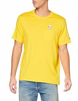 Levi's Mens Relaxed Fit Tee T-Shirt, Pocket Soccer Snoops Gold Fusion, M von Levi's