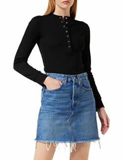 Levi's Womens HR Decon Iconic BF Skirt, Stuck In The Middle, 30 von Levi's