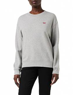 Levi's Damen Standard Crew Sweatshirt, Smokestack Heather, XX-Small von Levi's