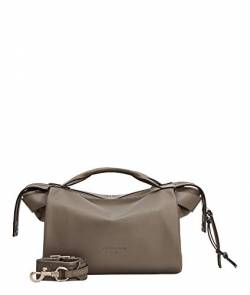 Liebeskind Berlin Gray Satchel Handtasche, Small (25.2 cm x 25.7 cm x 10.8cm), honey grey von Liebeskind Berlin