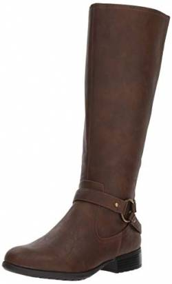 LifeStride Damen X-Felicity Low Heel Tall Shaft Boot Kniehoher Stiefel, Dunkelbraun, 39 EU von LifeStride