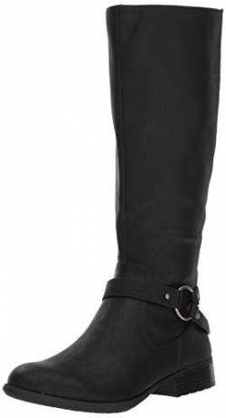 LifeStride Damen X-Felicity Low Heel Tall Shaft Boot Kniehoher Stiefel, schwarz, 38.5 EU von LifeStride