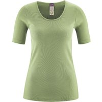 LIVING CRAFTS Kurzarm-Shirt T-Shirts hellgrün Damen Gr. 44/46 von Living Crafts