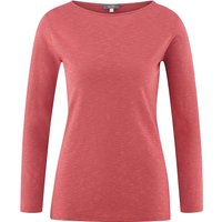 LIVING CRAFTS Langarm-Shirt Langarmshirts pink Damen Gr. 36/38 von Living Crafts