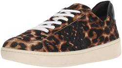 Loeffler Randall Damen Elliot Lace Up Sneaker with RIC Rac, Light Leopard, 36.5 EU von Loeffler Randall