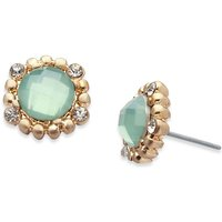 Damen Lonna And Lilly Kristall Stud Ohrringe vergoldet 60460979-900 von Lonna And Lilly
