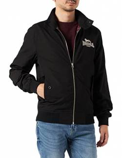 Lonsdale Herren Jacke Jacke Slim Fit Harrington, Black, L von Lonsdale