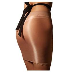 LoveLeiter Damen Basic Transparent Rock Kurz Bleistiftrock Unterrock Dessous Lingerie Super Weich Stretch Etui Minirock Skirt Bodycon Nachtwäsche Nachtclub Rock von LoveLeiter —Unterwäsche & BH