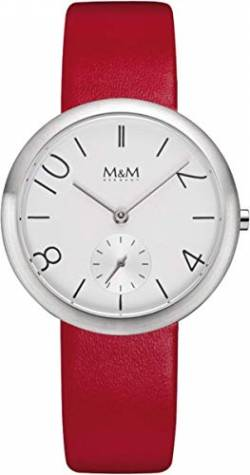 M&M Damen-Armbanduhr New Design Watch Analog Quarz M11932-723 von M&M