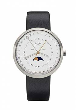 M&M New Moon M11949-423 Herrenarmbanduhr von M&M