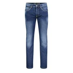 MAC Jeans Herren Arne Pipe Straight Jeans, Blau (Heavy Authentic Used H663), W31/L32 von MAC Jeans