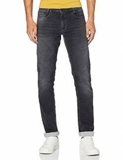 MAC Jeans Herren Hose Modern Fit Jog'n Jeans Light Sweat Denim, Grey Used, 33W / 34L von MAC Jeans