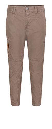 MAC Jeans Damen Rich Cargo Cotton Hose, 684R Nutria PPT, 38/28 von MAC Jeans
