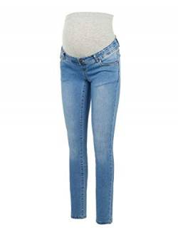 MAMALICIOUS Damen MLONO Slim A. NOOS Jeans, Wash:Washed Light Blue Denim, 28/32 von MAMALICIOUS