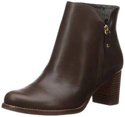 MARC JOSEPH NEW YORK Damen Leather Block Heel Ankle Boot Stiefelette, Brauner Nappa, 37.5 EU von MARC JOSEPH NEW YORK