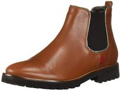 MARC JOSEPH NEW YORK Damen Leather Eva Lightweight Technology Chelsea Style Ankle Boot Stiefelette, Jaspis Nappa, 38 EU von MARC JOSEPH NEW YORK