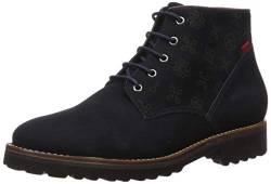 MARC JOSEPH NEW YORK Damen Leather Eva Lightweight Technology Lace Up Bootie Stiefelette, Nappa Nappa, Navy, 40 EU von MARC JOSEPH NEW YORK