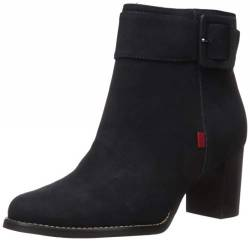 MARC JOSEPH NEW YORK Damen Leather Luxury Ankle Boot With Buckle Detail Stiefelette, Marineblau, 41 EU von MARC JOSEPH NEW YORK