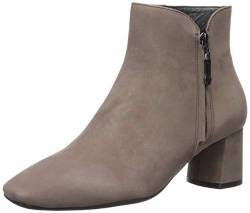 MARC JOSEPH NEW YORK Damen Leather Luxury Ankle Boot with Zipper Stiefelette, Erdnubuk, 36 EU von MARC JOSEPH NEW YORK