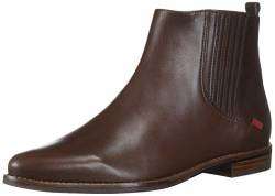 MARC JOSEPH NEW YORK Damen Leather Made in Brazil Luxury Ankle Boot Stiefelette, Brauner Nappa, 40.5 EU von MARC JOSEPH NEW YORK