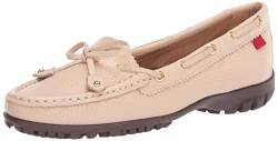 MARC JOSEPH NEW YORK Damen Leder Made in Brazil Cypress Hill Golfschuh, Braun (Beige Trommelkörnchen), 39.5 EU von MARC JOSEPH NEW YORK