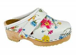 MB Clogs Original Schwedenclogs Holzclogs Kinderclogs Summer Flower von MB Clogs