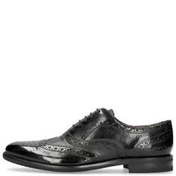 MELVIN & HAMILTON MH HAND MADE SHOES OF CLASS Herren Clint 23 Oxfords, Schwarz (Black Black), 52 EU von MELVIN & HAMILTON MH HAND MADE SHOES OF CLASS