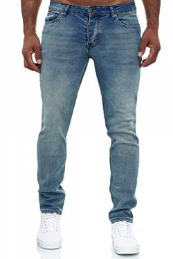 MERISH Jeans Herren Slim Fit Jeanshose Stretch Designer Hose Denim 502 (32-32, 502-1 Hellblau) von MERISH