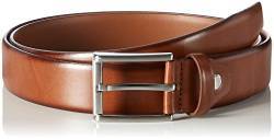 MLT Belts & Accessoires Herren Business-Gürtel London, Braun (light brown 6700), 80 cm von MLT Belts & Accessoires