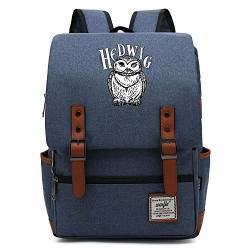 Harry P Hedwig Casual Daypack, Teenager Outdoor Travel University Rucksack, passt Laptop Tablet, Junge/Mädchen Wochenende Tasche 16 Zoll. Farbe-16. von MOLUOGE