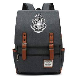 Teenager College School Rucksack, Casual Travel Wanderrucksack, Harry P Deathly Hallows Daypack, passend für 15 Tablet 14 Zoll. Farbe-22 von MOLUOGE