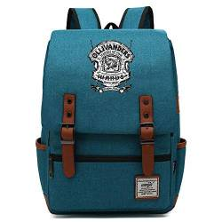 Teenager College School Rucksack, Harry P Deathly Hallows Daypack, Casual Travel Wanderrucksack, passend für 15 Tablet 16 Zoll. Farbe-05. von MOLUOGE