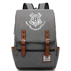 Teenager Vintage 15-Zoll-Laptop-Rucksack, Harry P Hogwarts Daypack, langlebige Business College Travel Daypacks M-14inch Typ-14 von MOLUOGE