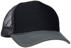 MSTRDS Herren Trucker high Profile Baseball Cap, Mehrfarbig (dk.grey/black 1023,5194), One size von MSTRDS