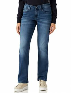 MUSTANG Damen Sissy Straight Jeans, Blau (Medium Middle 502), 33W 34L EU von MUSTANG