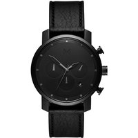 MVMT Black Leather Chrono 40 Herrenuhr MC02-BLBL von MVMT