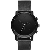 MVMT Black Leather Chrono Herrenuhr MC01BL von MVMT
