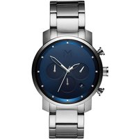 MVMT Midnight Silver Chrono 40 Herrenuhr MC02-SBLU von MVMT