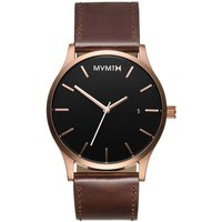 MVMT Rose Gold Brown Classic Herrenuhr MM01-RGBL von MVMT