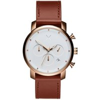 MVMT Rose Gold Natural Tan Chrono 40 Herrenuhr MC02-RGNA von MVMT
